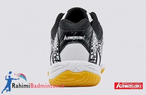 کفش بدمینتون کاوازاکی مدل K-063 رنگ سفید