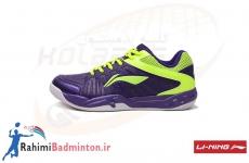کفش بدمینتون لینینگ AYTM023-2 رنگ بنفش