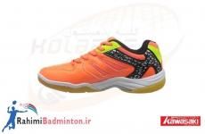 کفش بدمینتون کاوازاکی مدل K-061 رنگ نارنجی