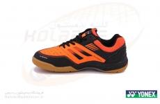 کفش بدمینتون یونکس مدل All England ۰5 رنگ مشکی-نارنجی