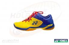 کفش بدمینتون یونکس مدل SHB 03 ZMEX LCW رنگ زرد-آبی