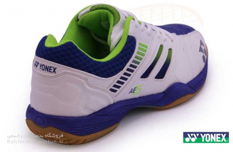 کفش بدمینتون یونکس مدل All England ۰5 رنگ سفید-آبی